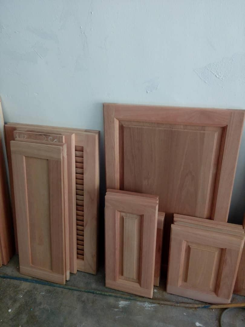 Best kayu Wainscoting Bali solid wood divider handrail panel cornice p
