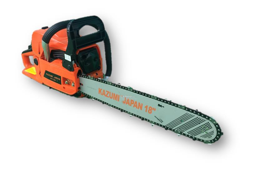 Kazumi MS550 18inch 55cc Portable Chainsaw (Made in Japan)