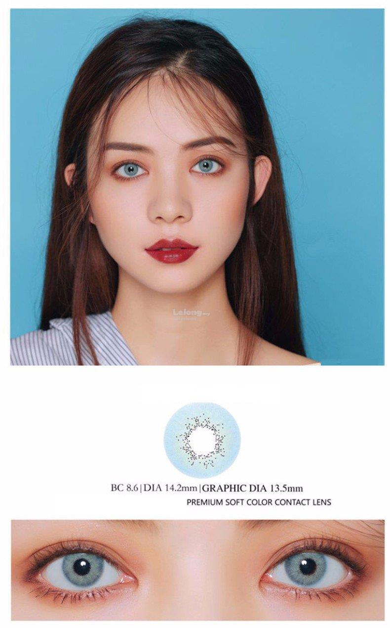 KAZZUE TORIC Aqua Blue Color Korea Contact Lens – KABLU006T