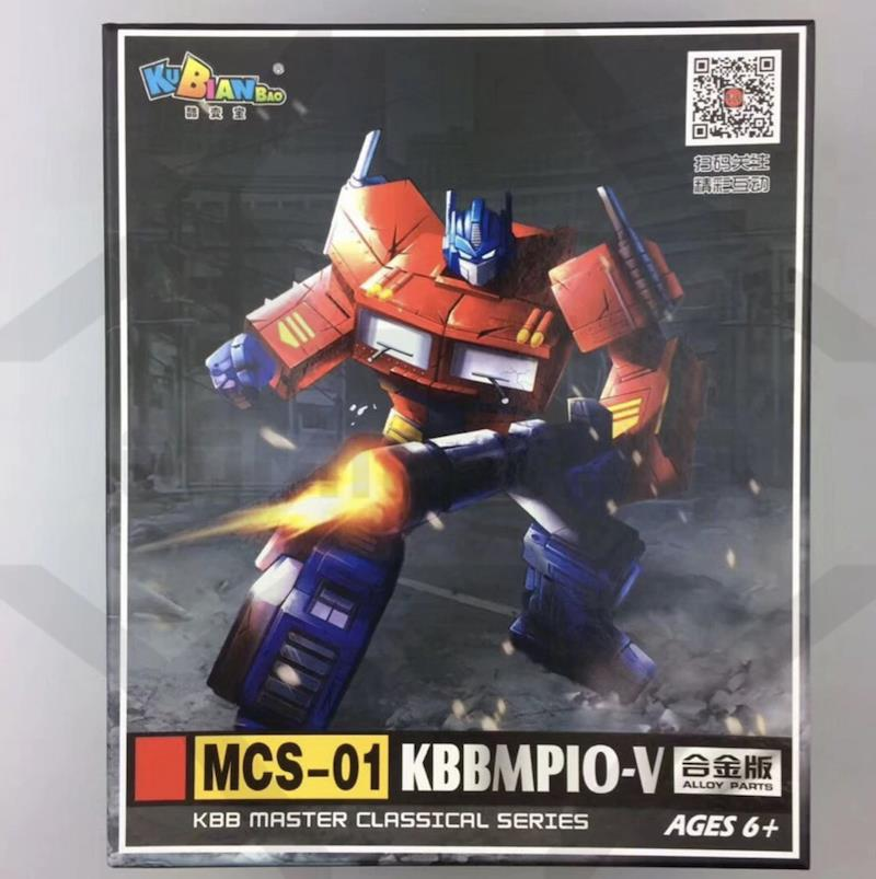 KBB Transformer OP Commander MP10V Optimus Prime Alloy Metal