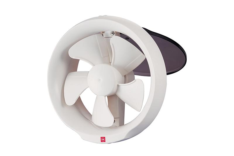Kdk 6 Glass Mount Propeller Ventilating Fan 15wud