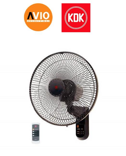 KDK KC4GR WALL FAN With REMOTE 16'' 16 INCH 3 SPEED
