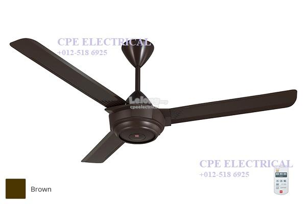 Kdk remote control ceiling fan 56 k end 6282019 215 pm kdk remote control ceiling fan 56 k14x2 dark brown aloadofball