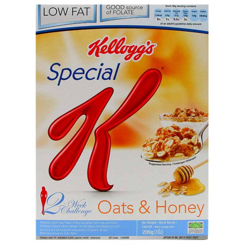 KELLOGG''S SPECIAL K OATS & HONEY 209G. ‹ ›
