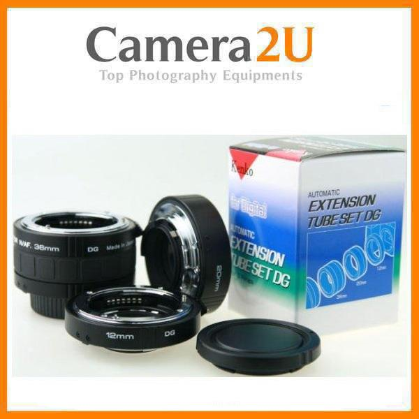 New Kenko Auto Focus Macro Extension Tube Set for Sony Alpha A Mount