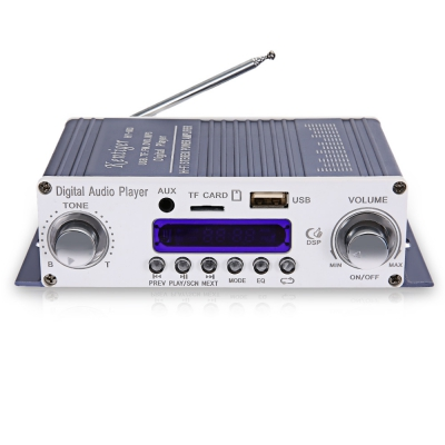 Kentiger HY - 603 HiFi Stereo Power Digital Amplifier with FM IR Contr..