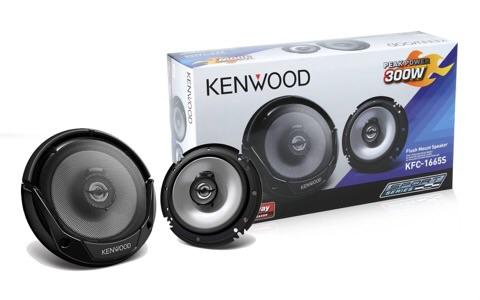 "Kenwood 6"" 3 way car speaker original"