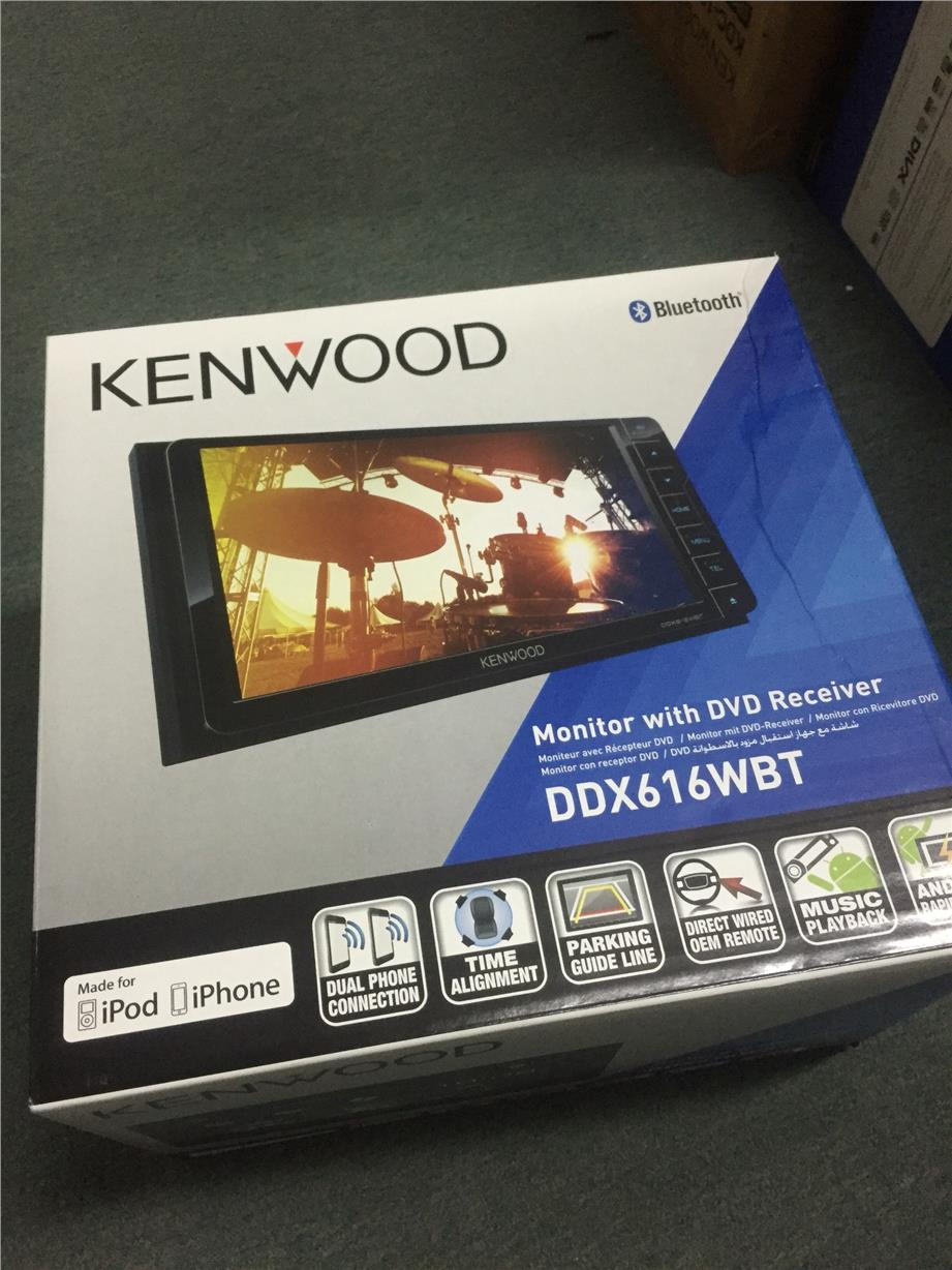 Kenwood DDX616WBT USB Bluetooth for Toyota ( can add GPS box )