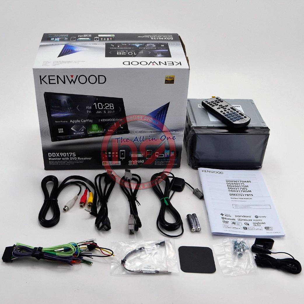KENWOOD DDX9018S 7' Wifi Apple Carplay Android Auto DVD Double Din Car