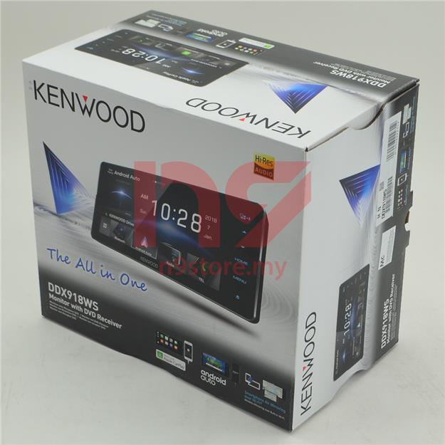 KENWOOD DDX918WS For Toyota Car Player Apple Carplay Android Spotify