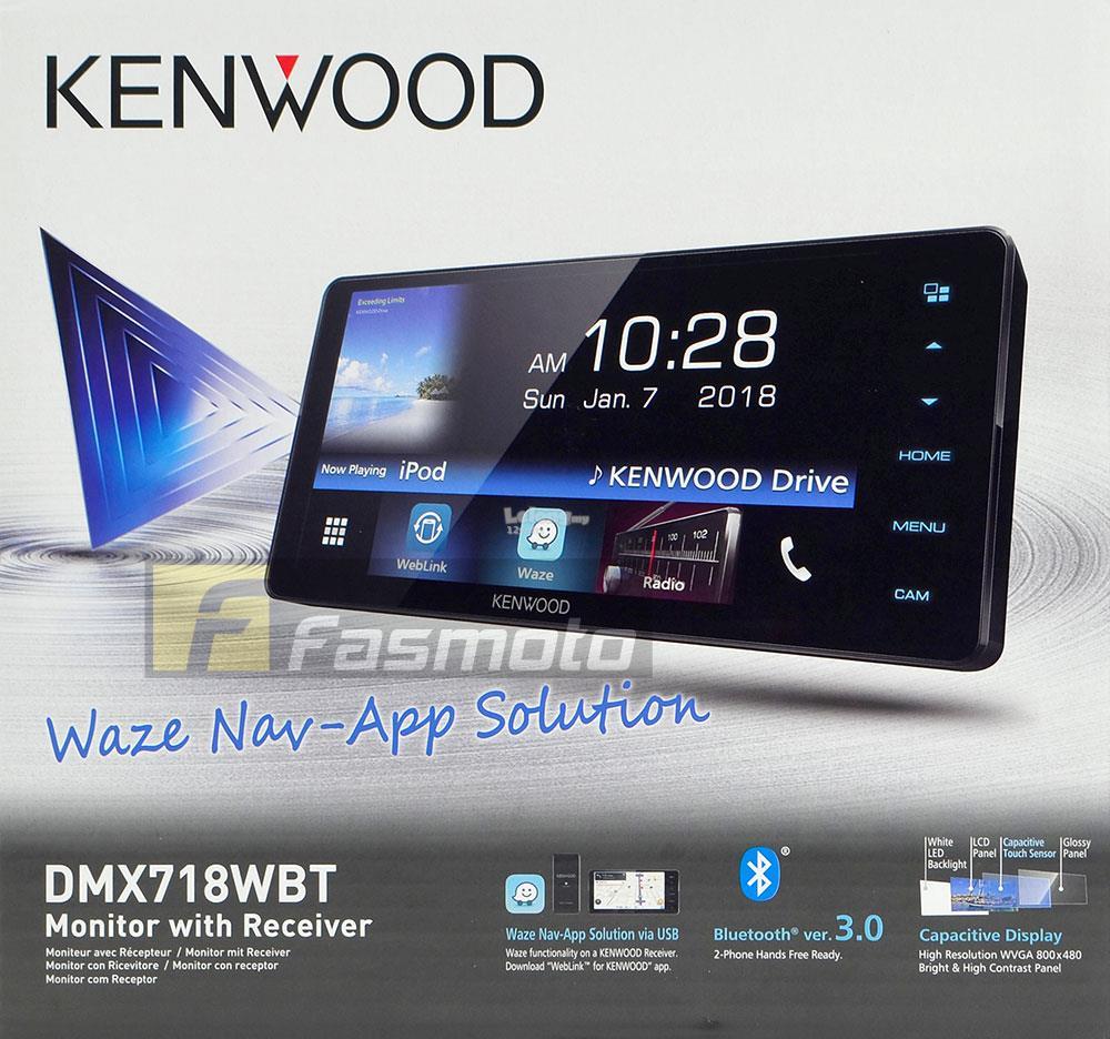 KENWOOD DMX718WBT 7
