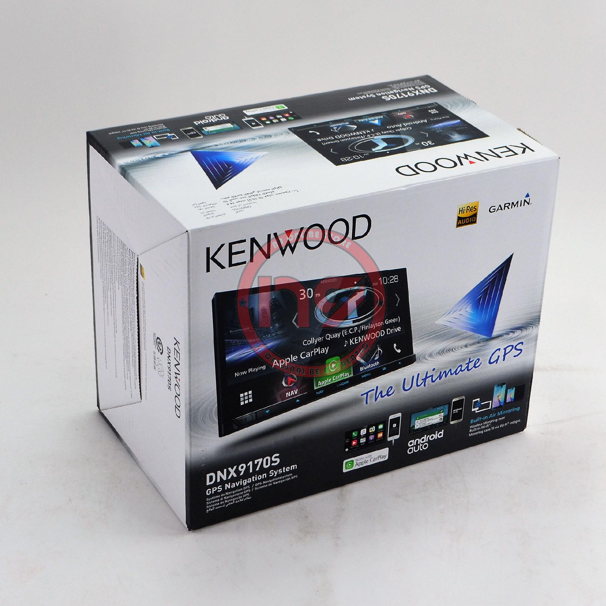 Kenwood DNX9170S 7' WiFi HDMI Apple CarPlay Android Auto Garmin Naviga