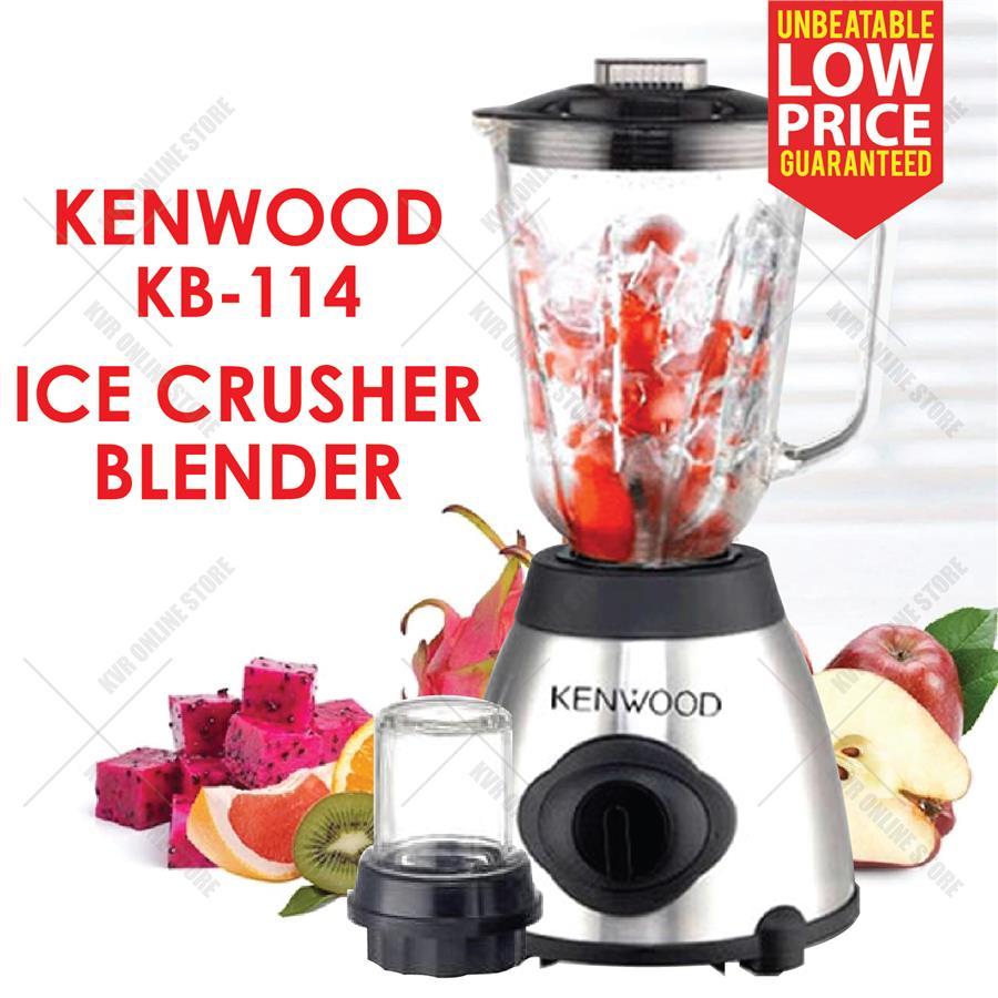 KENWOOD Ice Crusher Blender Grinder Mixer Smoothie Soy Juice 600W 1.5L