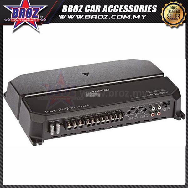 Kenwood KAC-PS704EX Performance Series 4 Channel Car Amplifier 60W x 4