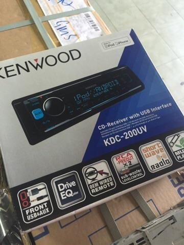Kenwood KDC-200UB cd MP3 USB light illumination