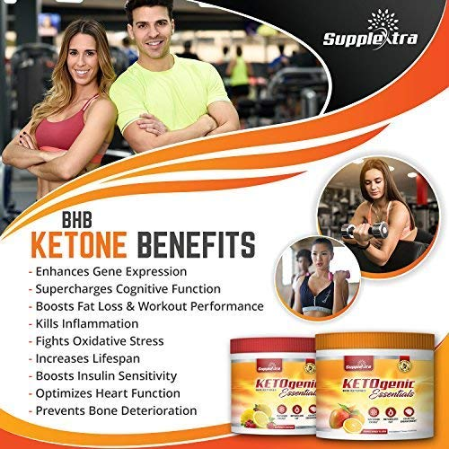 Ketogenic Essentials Exogenous Ketones Keto Powder Drink Mix- BHB Ketones - Ze