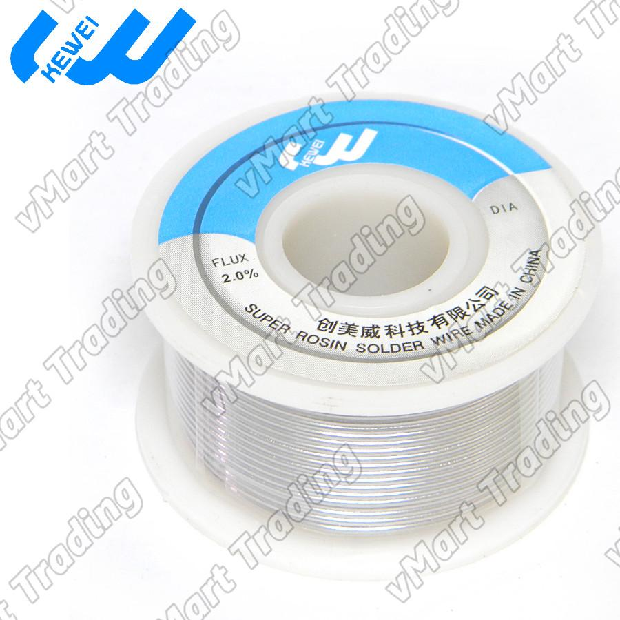 KEWEI Sn63Pb37 Flux Core Solder Wire 1.0mm 100g