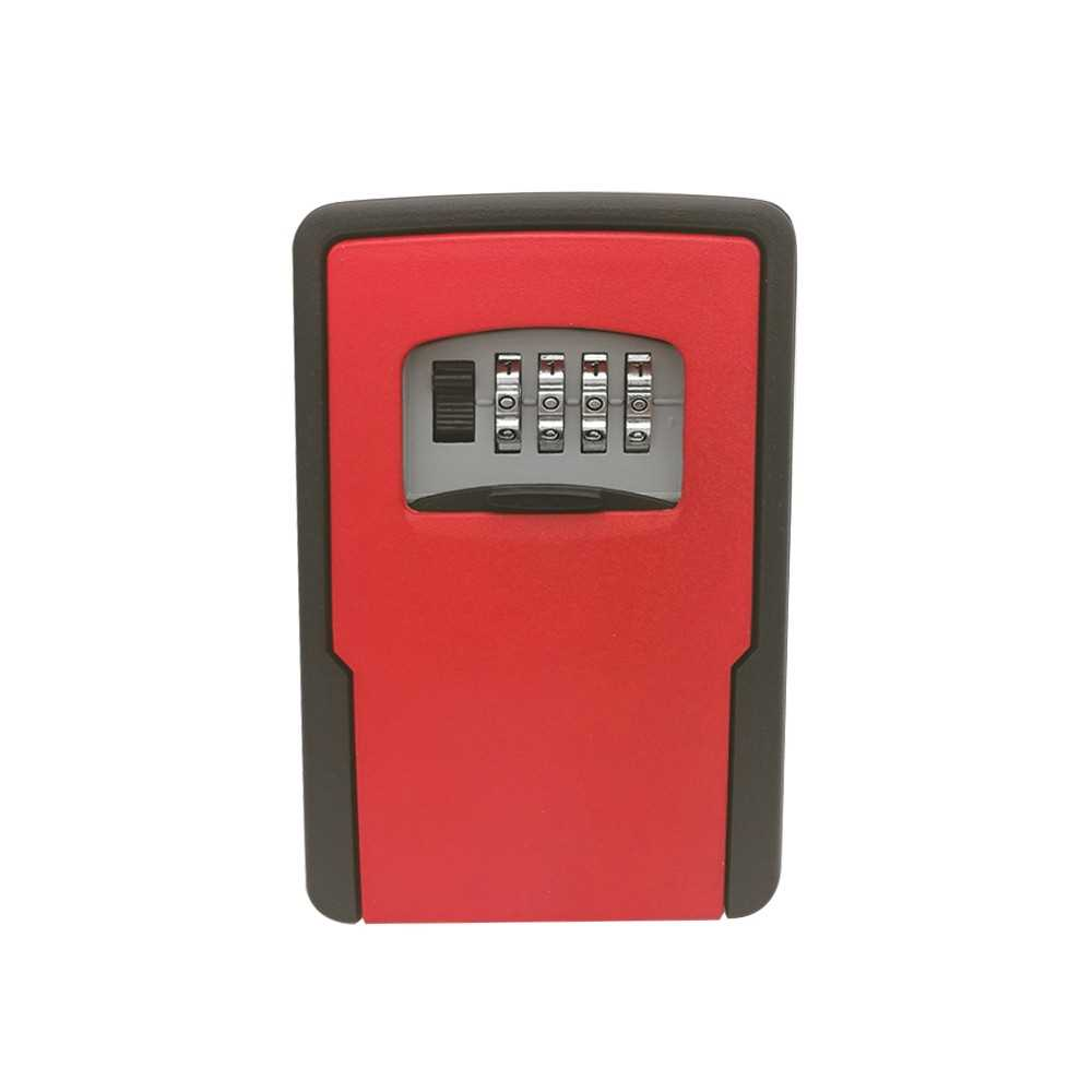 Key Storage Lock Box Wall Mounted With 4-Digit Combination for House