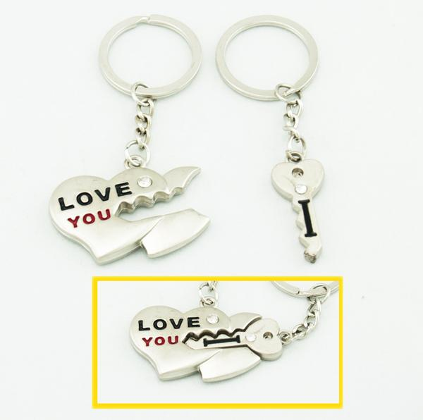 Key To Your Love Lover Couple Key Chain Keychain K46