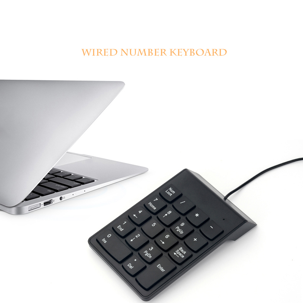 Keyboards - USB Cable Numeric Keypad  For Laptop Pc Notebook Computer ..