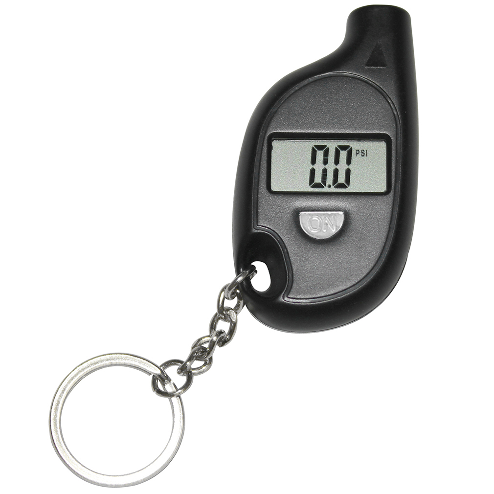 Keychain LCD Digital Tire Tyre Air Pressure Gauge For Car Auto Motorc