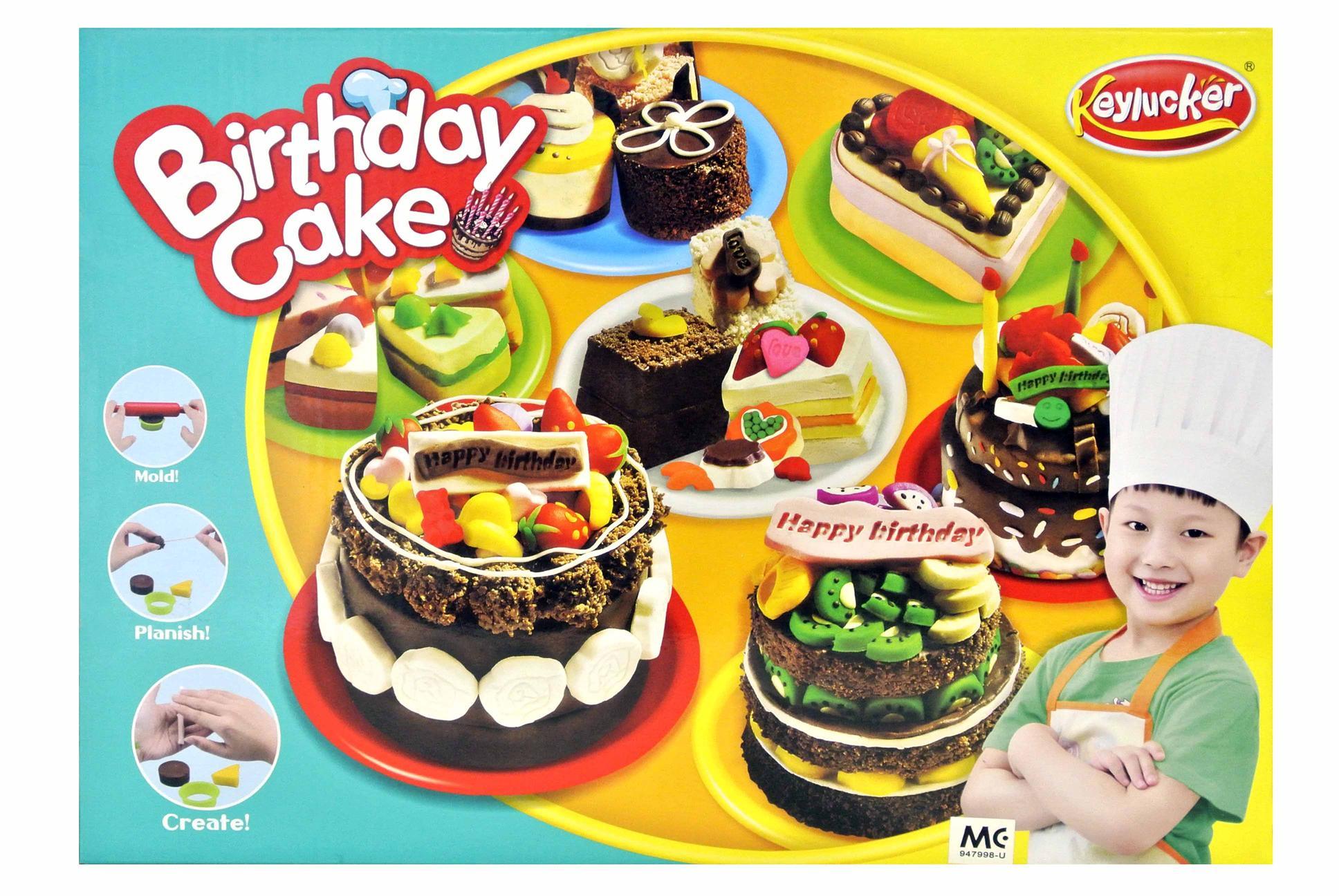 Keylucker Dough Birthday Cake Play End 9122016 1015 Pm