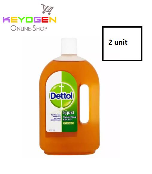 Keyogen 2 unit Dettol Antiseptic Liquid 750ml