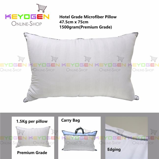 Keyogen Homie Hotel Pillow Microfiber with carry bag