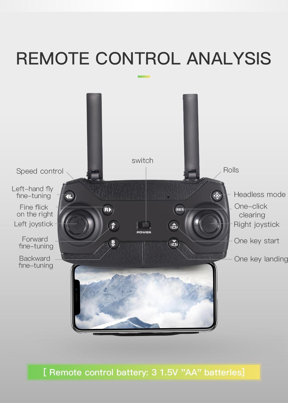 KF600 720P Camera WiFi FPV RC Quadcopter Drone Optical Flow Positionin