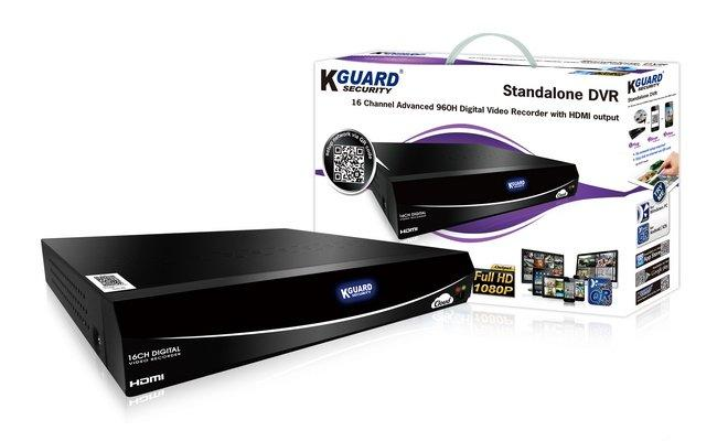 KGUARD 16 CHANNEL CCTV DVR (EL1622)