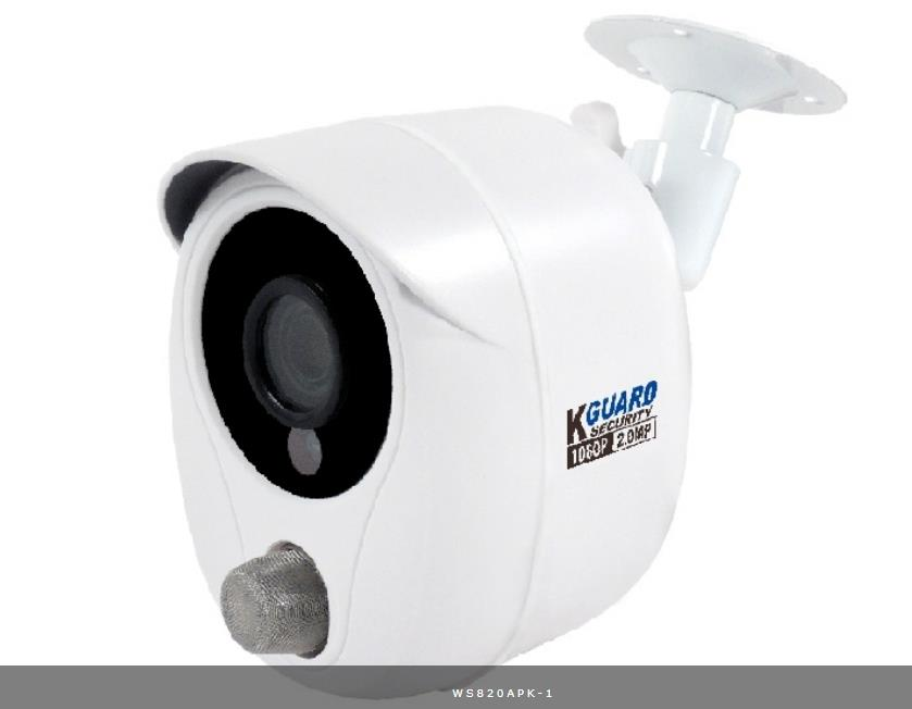 KGUARD IP CAMERA WIRELESS (WS820APK) SMOKE SENSOR?CCTV