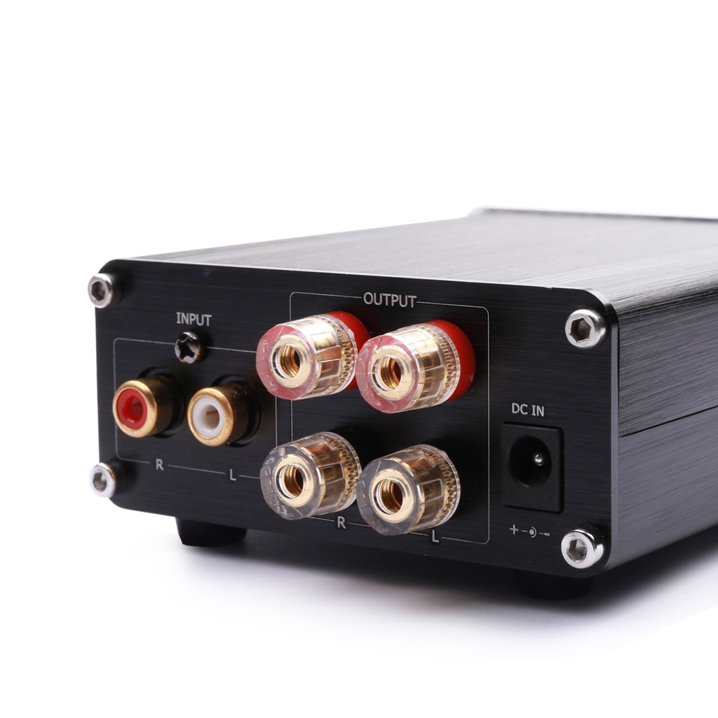 Kguss Gu100 Hifi Class D Audio dgtl Power Amplifier Tpa3116  - [BLACK]