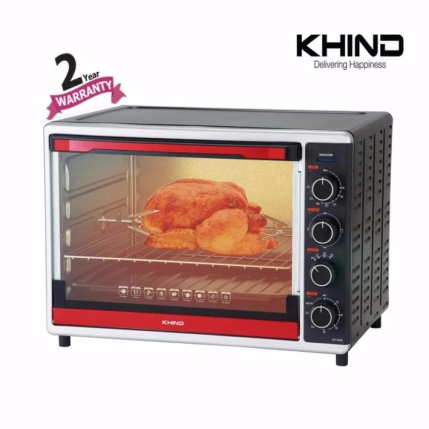 Khind 52Liters Electric Oven OT5205 with Convection & Rotisserie