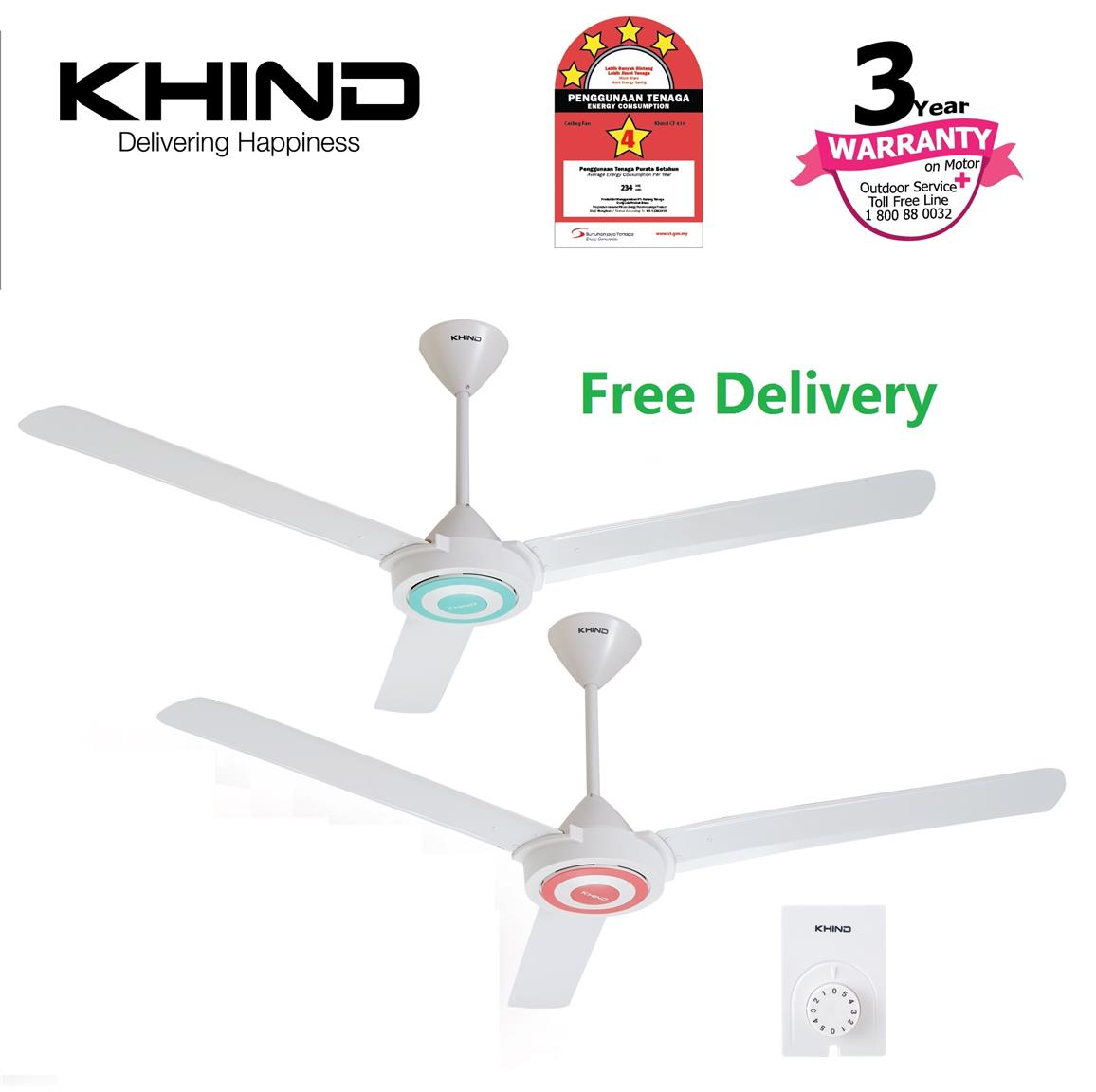 National Ceiling Fan Malaysia Fans Ideas Wiring In New Construction2setsswitchesfanlight3jpg Khind Cf610 2 Set 4 Star Energy Eff End 9 2019 3 15 Pm