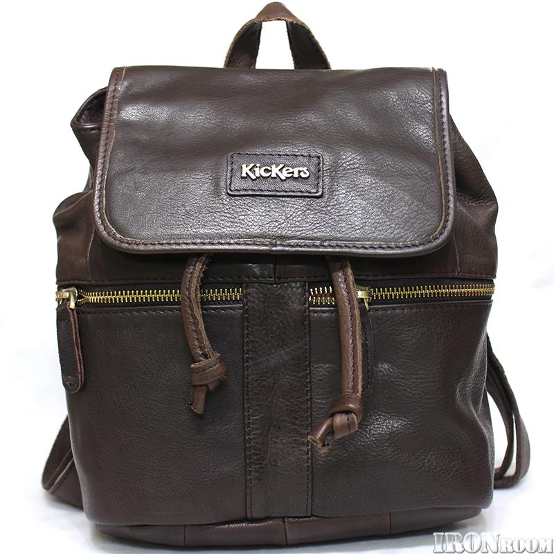 KicKers Ladies Leather Backpack  IC89553-S