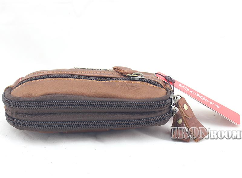 KicKers Zipper Leather Belt Pouch C87794-S