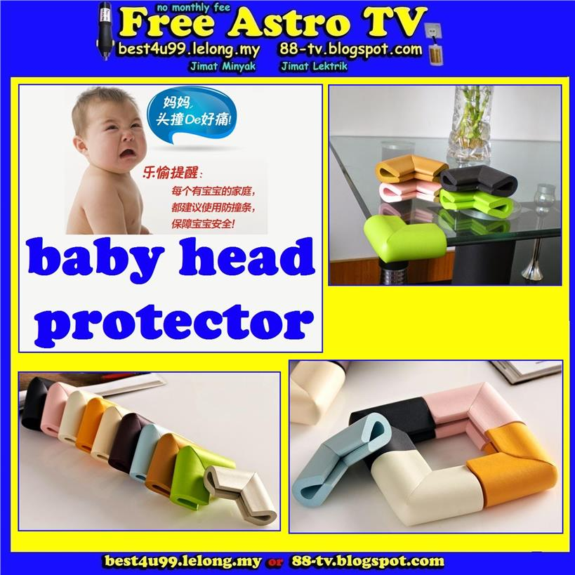 Kid Safe Baby Safety Edge Table corner protector Guard cover bayi bb d