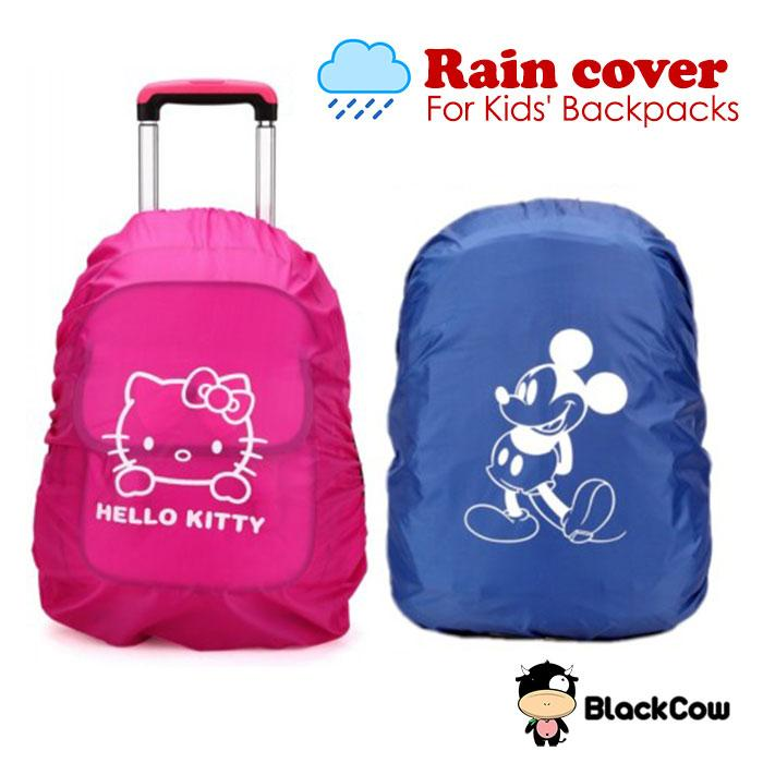 Kid School Bag Rain Cover - Hello Ki (end