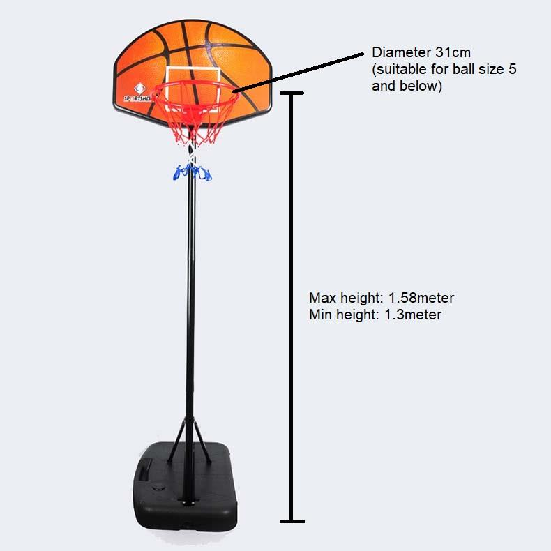 Kid and Teenagers basketball hoop basket ball