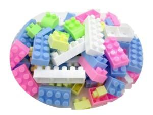 Kids 88 PCS Fun Brick Puzzle Building Toys Block Education Gift