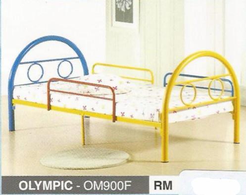 Kids Bed Series Single Size Metal Katil Besi Model Om900