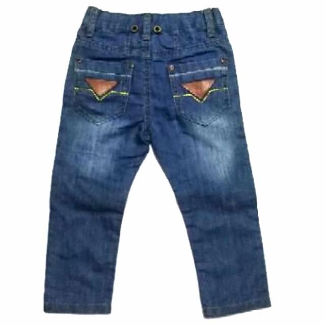 Kids boy straight long pants zipper fly pants Europe style
