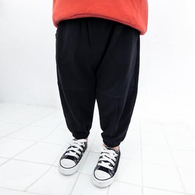 cf39ec248f Kids Children Boy Black Casual Sports Fashion Harem Long Pants Trouser. ‹ ›