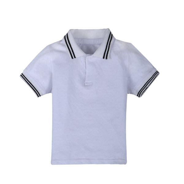 d22032ebc3db Kids Children Boy Short-Sleeved T-shirt Summer Cotton Polo Shirt. ‹ ›