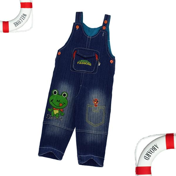Kids Clothes Blue Denim Jumpsuits