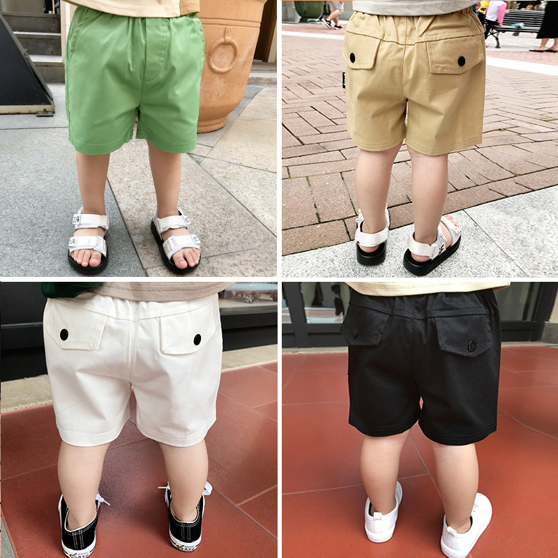 Kids Clothing Boys Bottoms Summer Cotton Shorts Children's Male Outfit