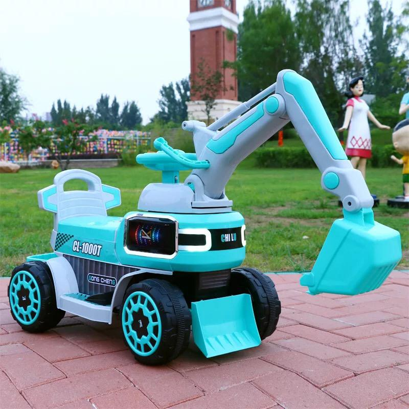 Kids Excavator Auto Car with Music Big Size