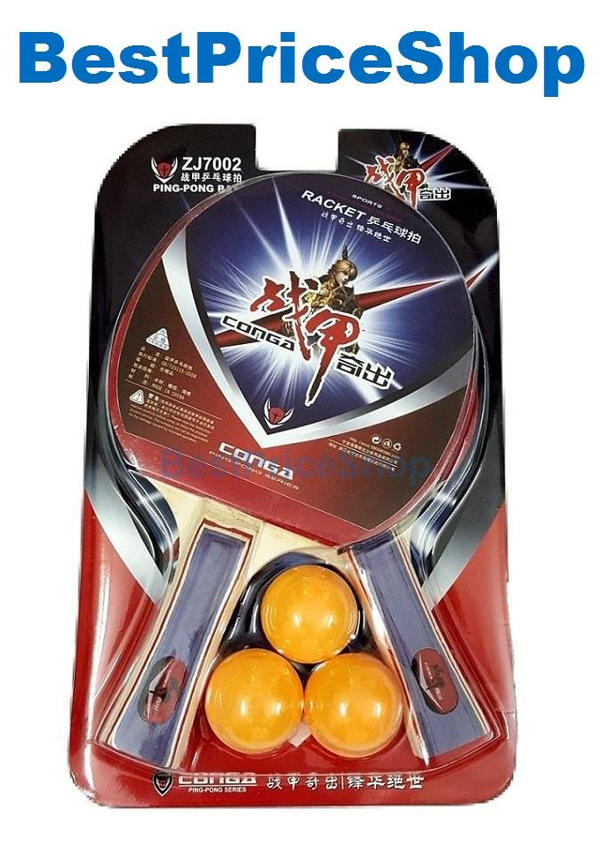 Kids Fitness Table Tennis Racket Ping Pong Paddle Bats Set Tabletennis