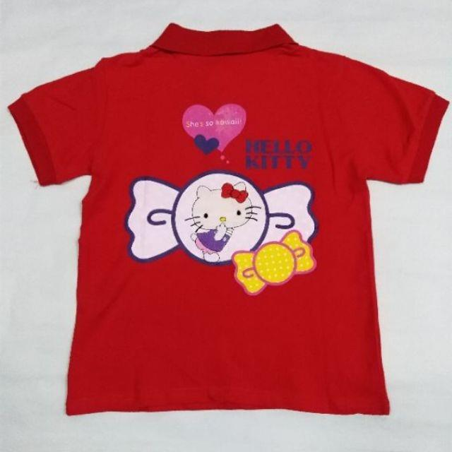 Kids Girl hellokitty t shirts short sleeve