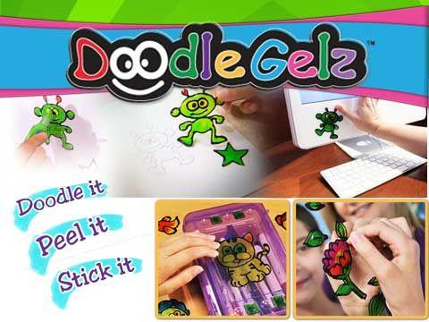 KIDS MAGIC DOODLE GELZ PAINTING KIT